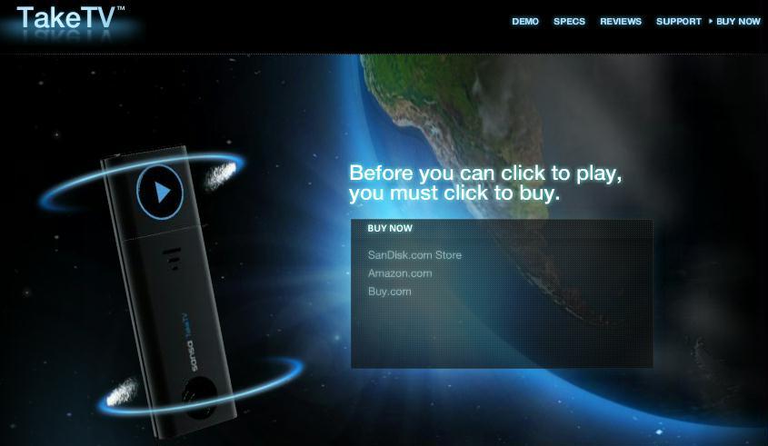taketv website